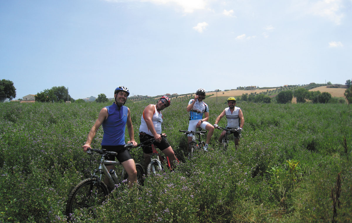 Escursioni in bici a Martinsicuro